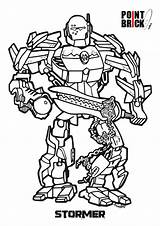 Lego Coloring Pages Factory Hero Colorare Da Disegni Colouring Bionicle Team Sheets Alpha Brick Stormer Clicca Sull Immagine Point Per sketch template