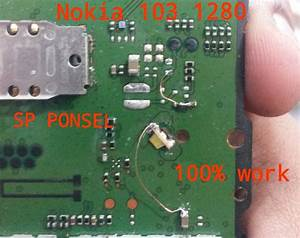 Nokia 1280 Cell Phone Screen Repair Light Problem Solution