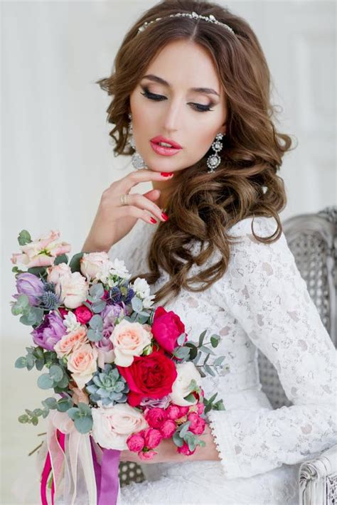gorgeous  stunning bridal makeup  wow style