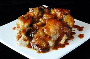 Foodista Dynamite Banana Foster Bread Pudding