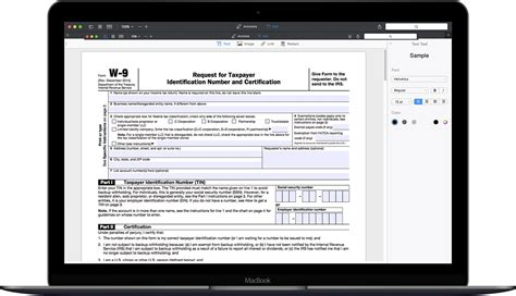 How To Fill Out Irs Form W9 20172018  Pdf Expert