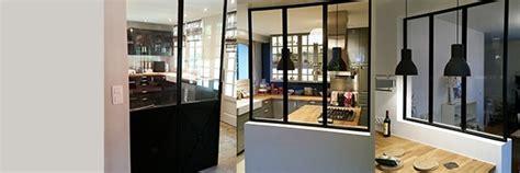 l atelier de cuisine verrière cuisine verrière intérieure verrière d