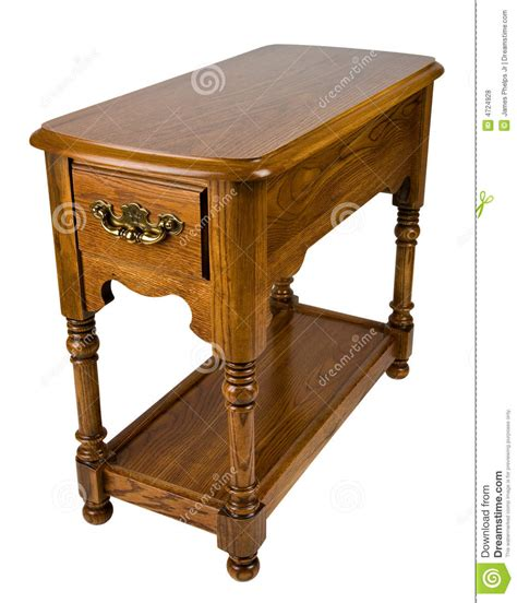 Chair Side Tables Oak by Oak Chair Side End Table Royalty Free Stock Photos Image
