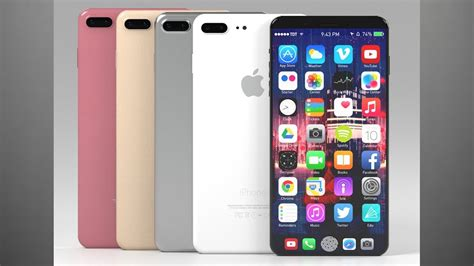 newest iphone out new iphone 8 leak new colors touchbar