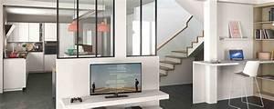 Aménagement Cuisine En U : modele cuisine en u plan pour cuisine meubles rangement ~ Premium-room.com Idées de Décoration