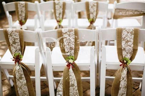 burlap chair sashes burlap chair sash 7 inch wide
