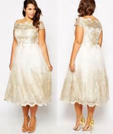 plus size dress for wedding get this plus size tea length wedding dress