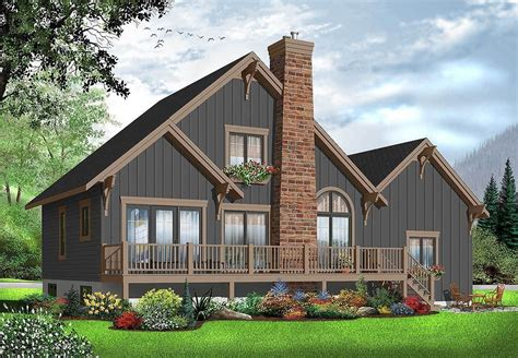 Maine Cottage House Plans Lake Coastal Porch