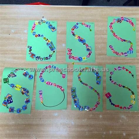 letter s crafts for preschoolers letter s crafts for kindergarten preschool crafts 894