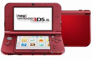 Nintendo NEW 3DS XL Console Red