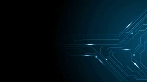 Animated Tech Wallpaper - blue tech circuit board technology animated