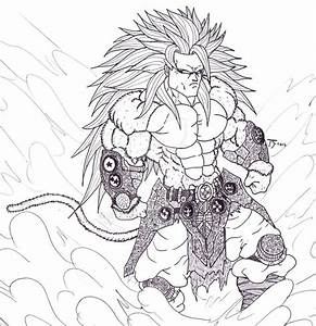 Dragon Ball Z Coloring Pages Super Saiyan 5 - AZ Coloring ...