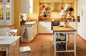 Ikea Küche Mit Elektrogeräten : ansicht der ganzen k che mit esstisch ikea k cheninsel metod unterschr nken mit 2 kroktorp ~ Markanthonyermac.com Haus und Dekorationen