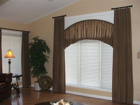 Arched Or Curved Window Curtain Rod Canada by Curved Curtain Rods For Arched Windows Home Decoration Ideas