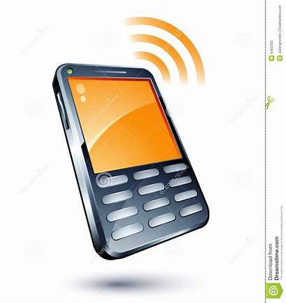 Clipart Phone Handy Cell Illustration Dreamstime Cliparts