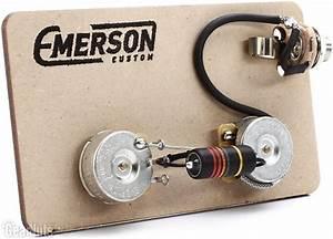 Emerson Custom Prewired Kit For Gibson Les Paul Junior