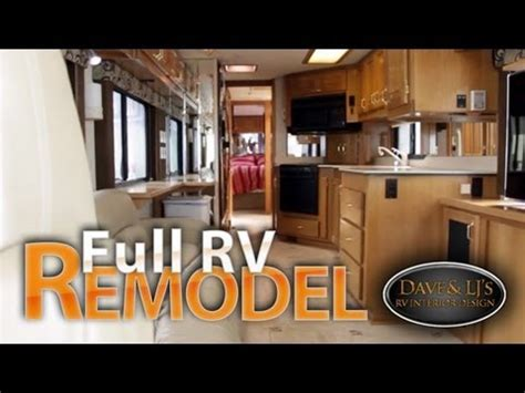 motorhome remodel heated tile floor motorized tv lift