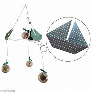 Mobile Pour Bébé : tuto mobile origami pour b b 2 3 le bateau id es et conseils origami ~ Teatrodelosmanantiales.com Idées de Décoration