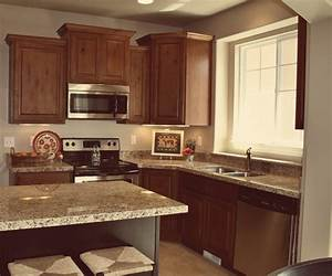 knotty alder cabinets houzz all home design solutions With best brand of paint for kitchen cabinets with buck stickers