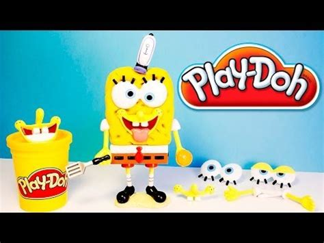 Play Doh Spongebob Squarepants Playset Mold Sponge