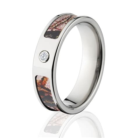 mossy oak pink break up camo rings camouflage wedding bands pink break up titanium camo ring w di