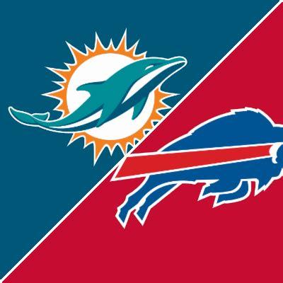 dolphins  bills game summary december   espn