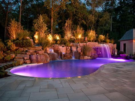 cool landscape designs ideas cool landscaping ideas for pools with purple gloom cool landscaping ideas for pools pool