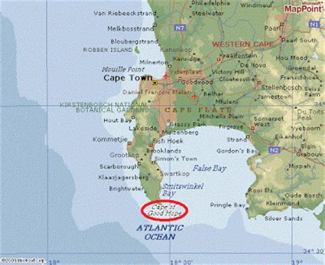 Images Of Cape Of Good Hope World Map Golfclub