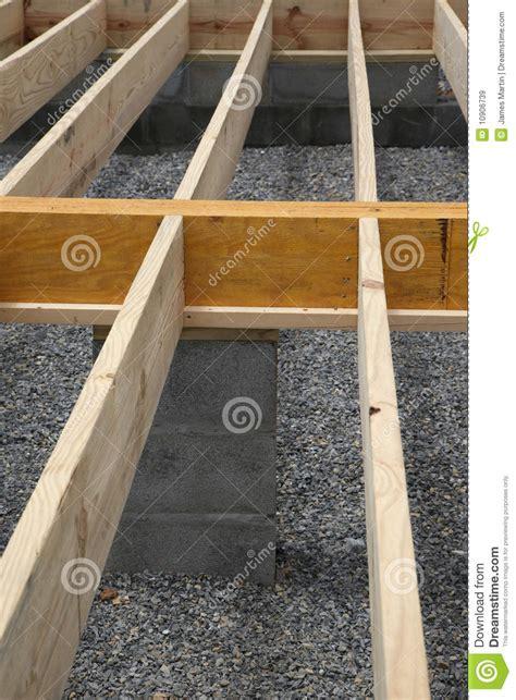 house framing floor joists stock image image