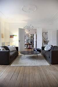 Décoration Appartement Moderne : decoration haussmannienne ~ Nature-et-papiers.com Idées de Décoration
