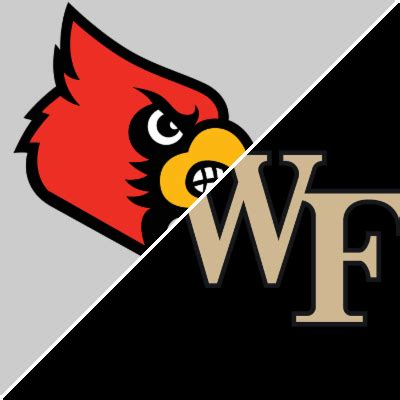 louisville  wake forest game summary january