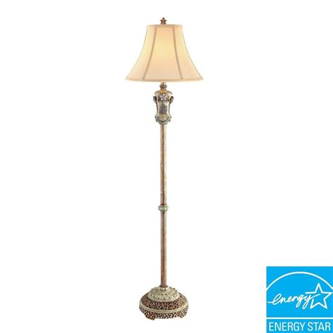 Ore International Floor L Polished Brass by Ore International 63 In H Vintage Floor L K 4203f