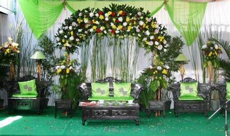 gandes rias pengantin dekorasi minimalis