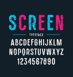 capital letters vector images
