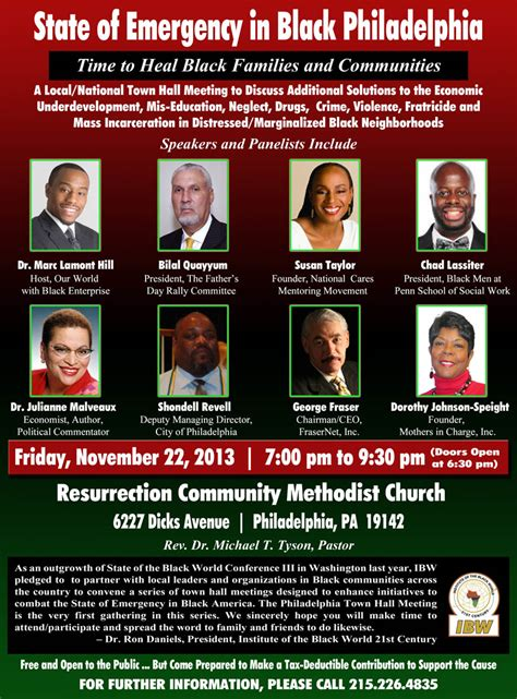 State of Emergency in Black Philadelphia - Institute of ...