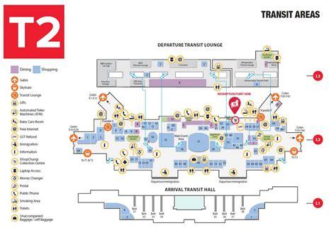 changi airport terminal map bing