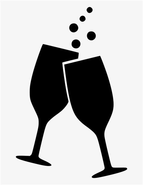 Kleurplaat Proost by Drink Wine Glasses Splash Cheers Beverage Comments