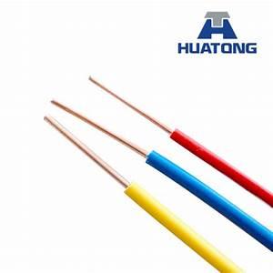 China Solid Copper Conductor Pvc Insulated Single Core
