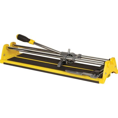 Qep Tile Cutter by Qep 21 In Ceramic Tile Cutter 10221q The Home Depot