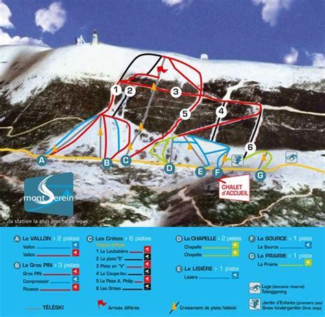 ski alpin snowboard station du mont serein