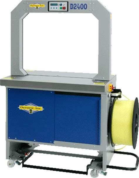 dynaric  high speed automatic strapping machine roberts business machines