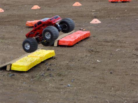 rc monster truck racing monster trucks hit the dirt rc truck stop