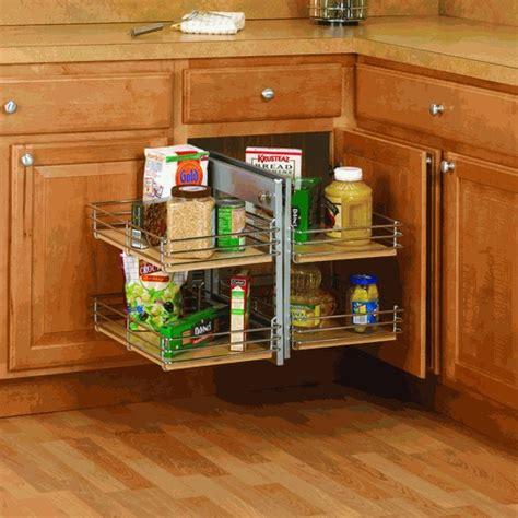 Blind Corner Kitchen Cabinet Ideas by Slide Out Base Right Blind Corner Shelving Unit Kitchen