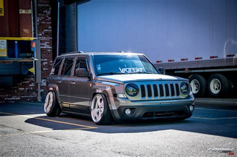stanced jeep wrangler stanced jeep patriot cartuning best car tuning photos