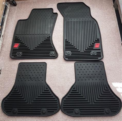 audi a4 floor mats audi a4 b5 a4 s4 oem audi sport rubber floor mats set of