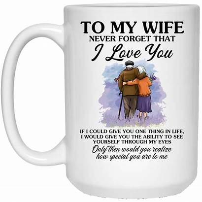 Wife Gift Birthday Mug Forget Never Gifts