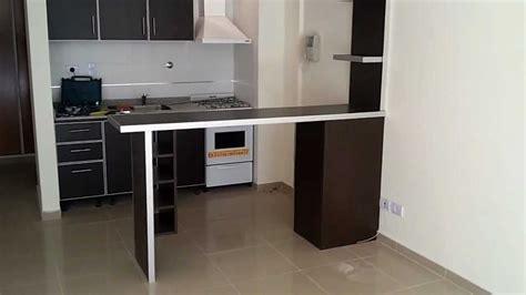 barra desayunador  mueble wengue fabrica en villa devoto