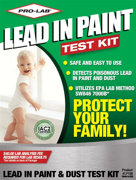 lead  paint dust test kit pro lab test kits