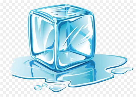 Cartoon Blue Ice Cubes Png