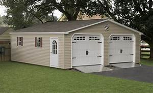 Custom Two Car Garages